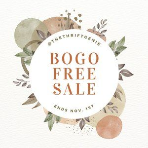 🎉 BUY ONE GET ONE FREE BLOWOUT SALE 🎉